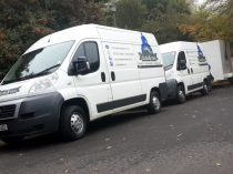 2 of our vans in Higgovale